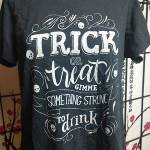 Trick or Treat shirt by Torrid 00 funny Halloween